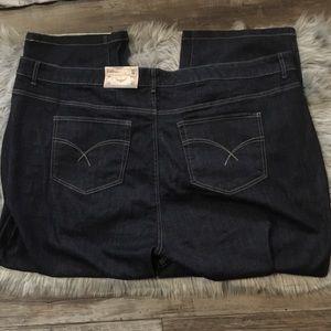 D/c Jeans curvy dark wash